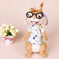 LOWEST PROMOTION Fashion doll toy plush doll alvin and the chipmunks chipmunk squirrel plush doll