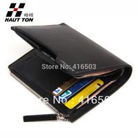 male wallet  genuine leather purse multifunctional wallet, Hot sale!