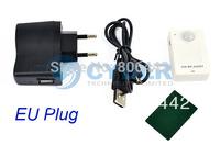 3sets/Lot PIR MP.Alert Infrared Sensor Alarm Anti-theft Motion Detection GSM Alert  White Free Shipping 9990