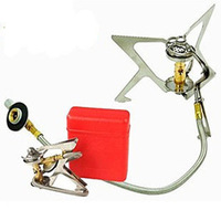 Portable Backpacking Picnic Camp Stove Gas Powered Stove Cookout Butane Burner