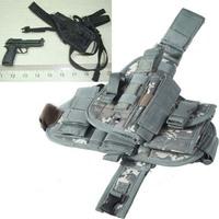 Hot Tactical Gun Pistol Holster Leg Gun Pouch with Quick Release Buckle - Camouflag out8433