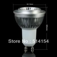 5pcs GU10 6W LED COB Spot Light 6W Bulb Globe Cool White/Warm White Spotlight Lighting