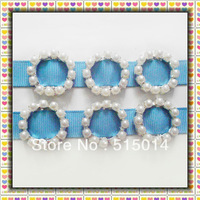 15mm Round Ribbon Buckle Slider ,Wedding Invitation Decoration ,Rhinestone Embelishment/Wholesale