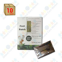 Deluxe Detox Foot Pad Patches (10 Piece Pack) by HealthyLife