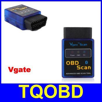 Vgate MINI ELM327 Bluetooth OBD II Scanner Bluetooth ELM327 Code Scanner Works On Android For Multi-brands Car
