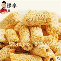 Free shipping Sesame seed candy sesame stick crisp maltose stove candy snacks sesame bar 140 g/bag