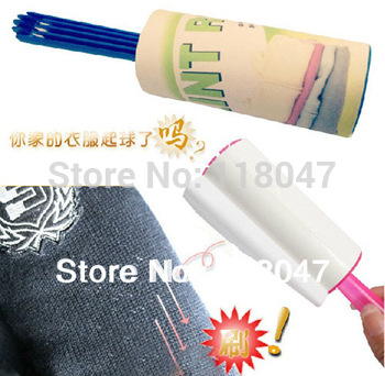 Free shipping 20Layers Dust Remover Lint Roller &Brush cleaning roller for Clothes ,Bed ,Sheet ,Pet