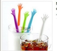 New HELP ME Drink Stirrer Help Stirrer Bars for Bar coffee Cocktail Drink Many Colors  5pcs/pack ,10packs/lot