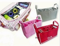 Free shipping One Piece  mummy organizer bag handbag organizer travel bag organizer insert  bags  5 Colors option