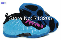 Free Shipping 2012 New Famous Trainers Air Foamposite Pro Woman's Sports Basketball Shoes High quality C828 Size 36-40 Mix order
