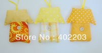 house hanger-fabric house, easter decoration-8designs-24pcs/lot-by randomly-free shipment