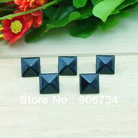 Fashion Style 100pcs Free shipping DIY Pyramid Studs Rivet Spike Decorate Bag Belt Leathercraft 12mm
