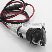 Motorcycle Car Boat Tractor Cigarette Lighter Power Outlet Plug Socket 12V 120W