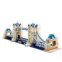 Cubicfun 3D puzzle Tower Bridge diy model puzzle free air mail