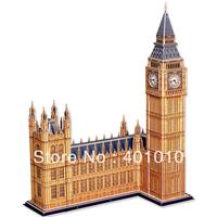 CubicFun 3d puzzle Big Ben in London educational diy toy model free air mail
