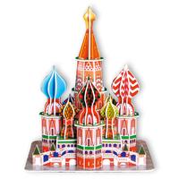CubicFun 3D puzzle Saint  Basil's Cathedral diy model toy free air mail