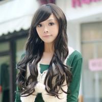 Hot sale Oblique bangs girls wig scroll bulkness women's wifing