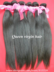 DHL free shipping queen hair products hot beauty extension hair wholesale virgin Brazlian hair 12&#39;&#39;-30&#39;&#39;(China (Mainland))
