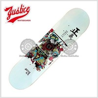 high quality Amercian wooden skateboard deck for skateboarding--door god