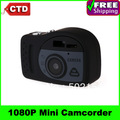 HK Post Free Shipping T7000 1920 * 1080P Mini  Digital DV Camera Mini Camcorder