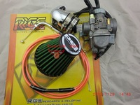 Racing power 30MM jet carburetor+ intake manifold+48MM air filter+RRGS racing cable throttle GY6 125  150