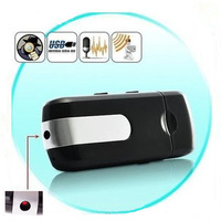 Free Shipping Mini DVR U8 USB DISK HD HIDDEN mini Camera Motion Detector Video Recorder 720x480