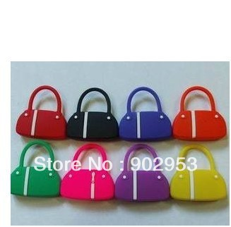 1GB 2GB 4GB 8GB 16GB 32GB cute size wholesale Fashion Lady handbag bag USB flash memory drive Pen U disk with gift Iron Box