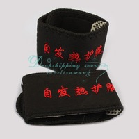 Wholesale Self-heating Braces Therapy Wrist Brace Spontaneous Heating Magnetic Belts 2 Pcs