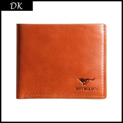 Promotion! Quality assurance Cowhide wallet,Men's genuine leather wallet,man leather lines purse/wallet for men whosale price(China (Mainland))