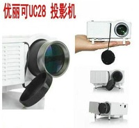 Uc28 hd projector household led micro projector mobile phone mini projector computer usb flash drive