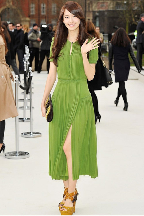 New arrival 2013 spring and summer ruslana green slim chiffon one-piece maxi dress/ bohemia catwalk long skirt/xxl free shipping(China (Mainland))