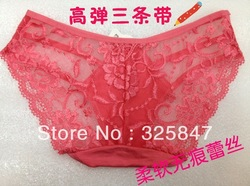 2013 underwear women sexy free shipping / hot pantys/ 6 piece a lot / each color need at least 6 pieces(China (Mainland))