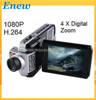 "Free shipping HD Car DVR Video F900LHD , HD 1080P + 12 Mega Pixels + 2.5"" LTPS TFT LCD + Wide Angle 120 Degree, Car DVR F900"