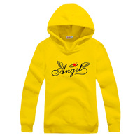 women's spring outerwear 2013 lovers plus velvet casual sweatshirt angle