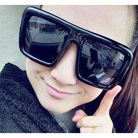 New Arrivals Huge Frame Women  Men`s Fashion UV Resistance Sunglasses Free Shipping Brand Designer 2013 Women Men Wholesale