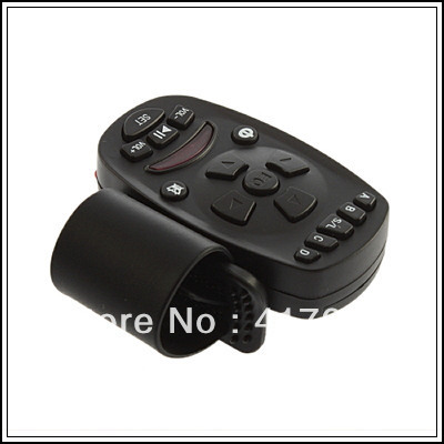 1pcs Universal Steering Wheel Remote Control Learning for Car Audio Video DVD GPS mp3 TV Wholesale Dropshipping(China (Mainland))
