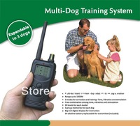 Hot Selling 1000M Range Remote Dog Training Collar Multi Dog Training System For 3 Dogs