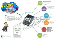 GSM Wireless GPRS Printer,receiving/printing sms messages/online orders from web or mobile phone