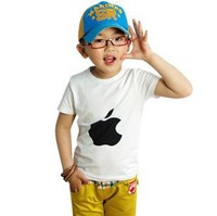 free shipping 2013 new summer children kids boy's t-shirt stylish wear baby/infant tops cotton