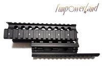 Black Color AK Handguard RIS Quad Rail System