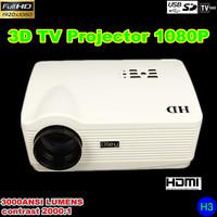 HD 3D USB TV Projector LED 3D 1080P
