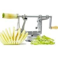 Safe shipping,New Silver Potato Apple Pear Fruit  Peeler Corer Slicer Tool 3 in 1