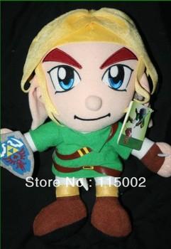 Free shipping 1PCS New The Legend Of  Zelda 12 '' Link Plush Doll Emolga Plush Figure