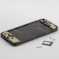 Black Hot Replacement Bezel Frame Middle CHASSIS Full Assembly fit for iPhone 4S D0482
