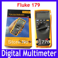 DHL/EMS Free shipping 100% Authentic Fluke 179 ESFP True RMS Multimeter with Backlight and Temp,10pcs/lot