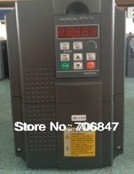 7500W 7.5KW 10HP variable frequency drive Vector control 600Hz vfd inverter for spindle/motor,input 380V output 380 3phase(China (Mainland))