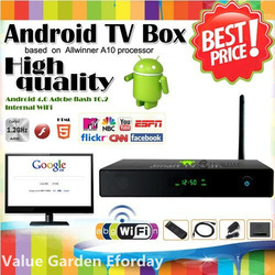 High Quality 4GB Google Android 4.0 HD TV Box Smart PC HDMI 1080p Media Player WiFi(China (Mainland))