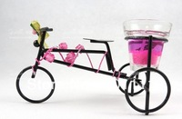 Mini Tricycle tea light candle holders wedding party Birthday favors home decoration valentine's day New Year favors