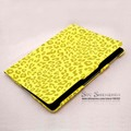 For Apple New iPad 2 iPad 3 iPad 4 Leopard Three Folding Leather Smart Case Cover with Stand, Flip Leather Skin for iPad2/3/4