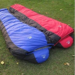 Mountain Outdoor Mummy Warm Sleeping Bag Down Sleeping Bag  -25 Duck Down Arctic Camping Bag